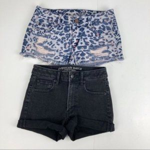 Lot of 2 American Eagle Outfitters Shorts Sz 00